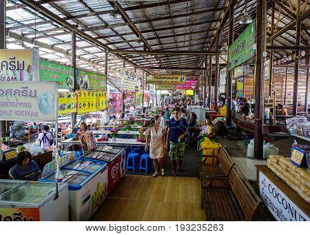 Local Market In Bangkok, Thailand