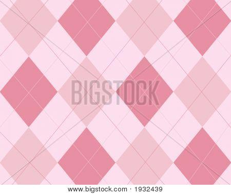 Pinks Argyle Background