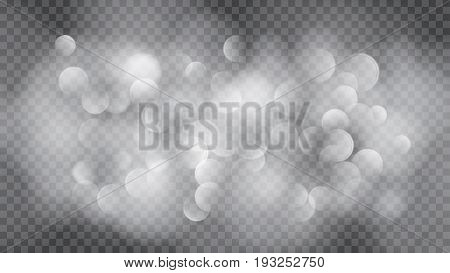 Abstract Translucent Blurred Background