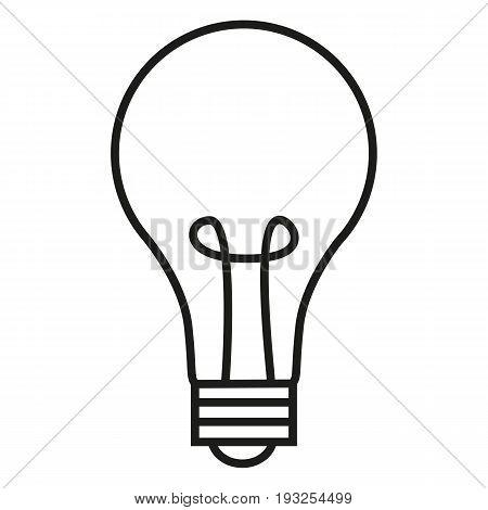 Vector Single Outline Icon - Lightbulb