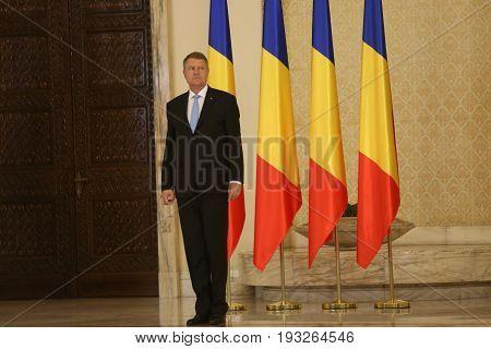Mihai Tudose Cabinet Swearing-in Ceremony
