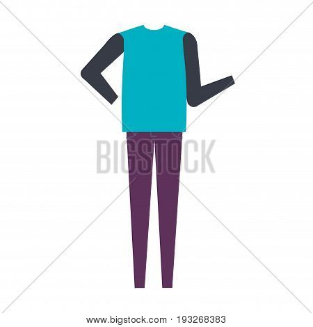 Casual and youth female clothing vector illustration design