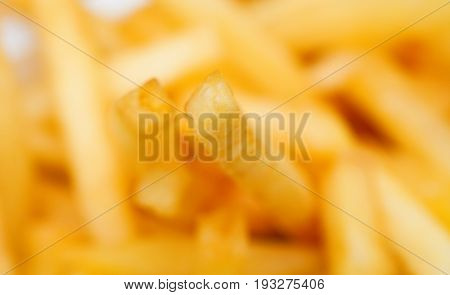Extreme Closeup of Pommes Frittes /French Fries