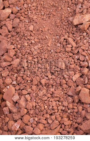 Red rock from mars concept stone industry