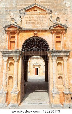 Greece Monastery