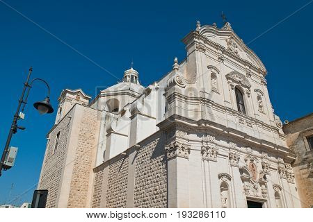 Church of Carmine. Martina Franca. Puglia. Italy.