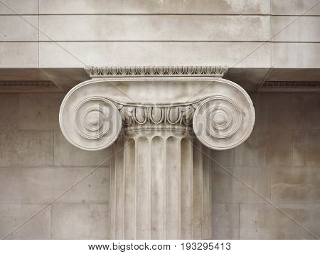 Ionic Capital Detail