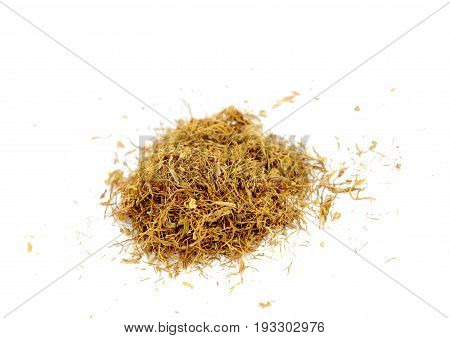 Dry Tobacco , Close Up