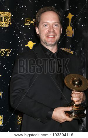 LOS ANGELES - JUN 28:  Eric Heisserer at the 43rd Annual Saturn Awards - Press Room at the The Castawa on June 28, 2017 in Burbank, CA