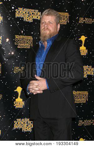 LOS ANGELES - JUN 28:  Michael Cudlitz at the 43rd Annual Saturn Awards - Press Room at the The Castawa on June 28, 2017 in Burbank, CA