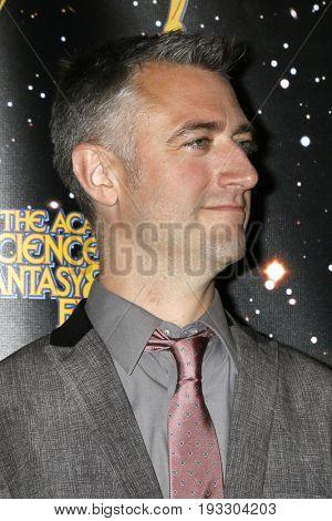 LOS ANGELES - JUN 28:  Sean Gunn at the 43rd Annual Saturn Awards - Press Room at the The Castawa on June 28, 2017 in Burbank, CA