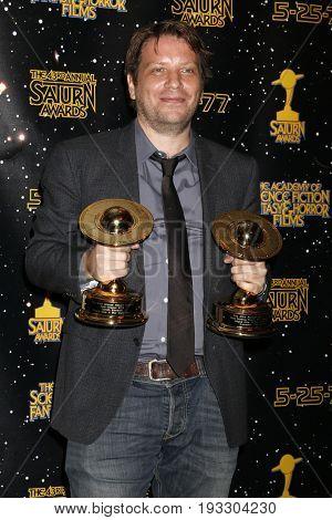 LOS ANGELES - JUN 28:  Gareth Edwards at the 43rd Annual Saturn Awards - Press Room at the The Castawa on June 28, 2017 in Burbank, CA