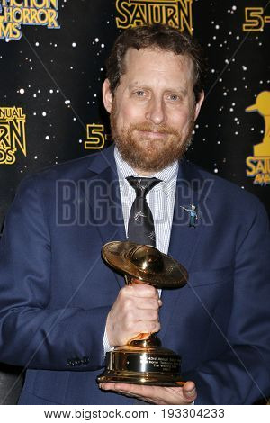 LOS ANGELES - JUN 28:  Scott Gimple at the 43rd Annual Saturn Awards - Press Room at the The Castawa on June 28, 2017 in Burbank, CA