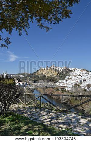 Arcos de la Frontera in Spain, Europe