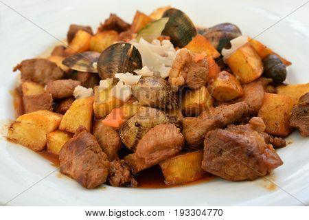 Pork Fillet Alentejo, Portugal