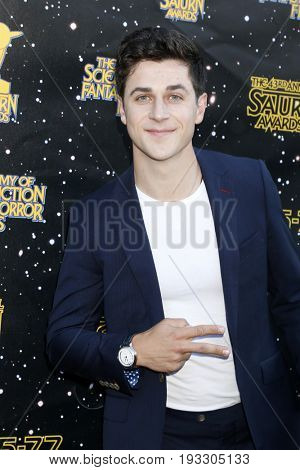 LOS ANGELES - JUN 28:  David Henrie at the 43rd Annual Saturn Awards - Arrivals at the The Castawa on June 28, 2017 in Burbank, CA