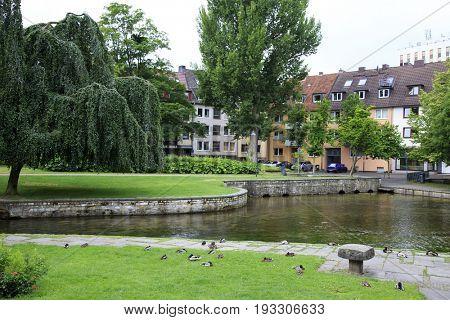 Travel in Germany. Padeborn