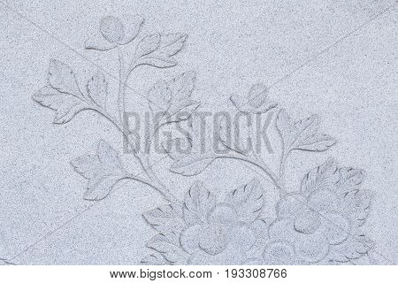 Chinese Style Stone carving temple decoration for background.