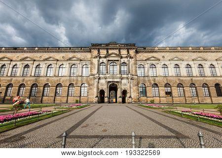 Dresden, Germany - June, 2016: Zwinger Castle in Dresden Germany