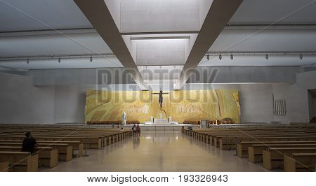 Basilica Of The Holy Trinity Of Fatima, Portugal