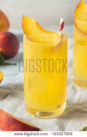 Refreshing Peach And Orange Fuzzy Navel Cocktail