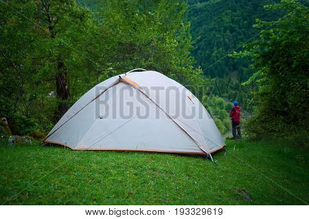 Camp In The Mountains