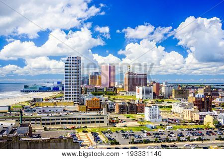 Atlantic City, New Jersey, USA Skyline.