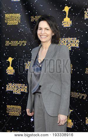 BURBANK - JUN 28: Amanda Silver at the 43rd Annual Saturn Awards at The Castaway on June 28, 2017 in Burbank, California