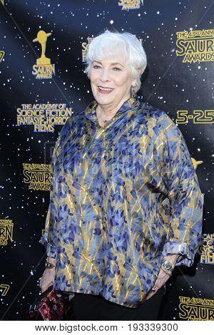 BURBANK - JUN 28: Betty Buckley at the 43rd Annual Saturn Awards at The Castaway on June 28, 2017 in Burbank, California