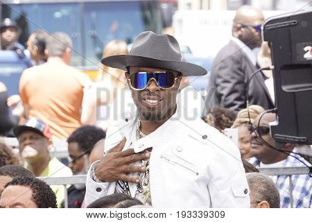 LOS ANGELES - JUN 12: Sir Jinx at a ceremony as Ice Cube is honored with a star on the Hollywood Walk of Fame on June 12, 2017 in Los Angeles, CA
