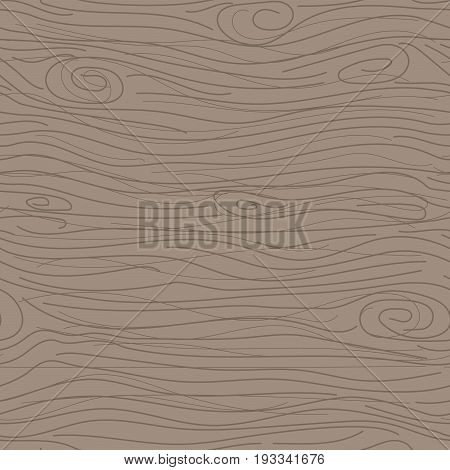 Wood taupe texture vector seamless pattern. Pale wooden bark of tree background.
