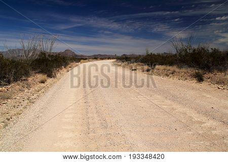 Old Maverick Road, Big Bend National Park, Texas