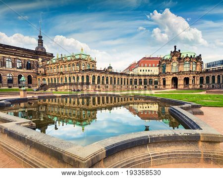 Morning In Famous Zwinger Palace