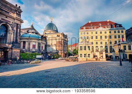 Sunny View Of Hochschule Fuer Bildende Kuenste Dresden
