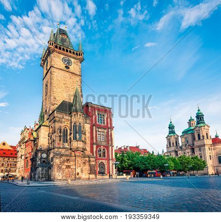 Picturesque View Of Old Town Square