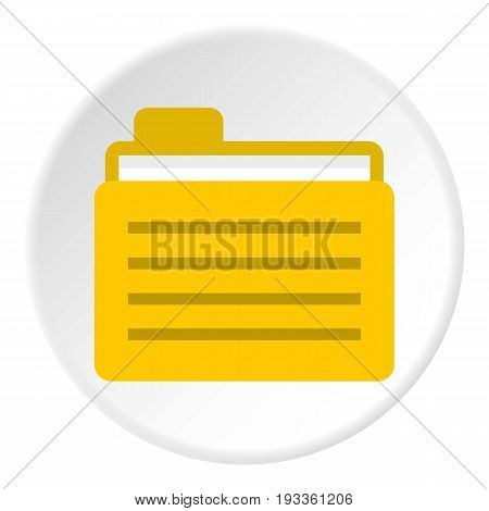Jerrycanicon in flat circle isolated on white background vector illustration for web