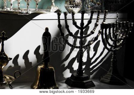 Jewish Candelabra