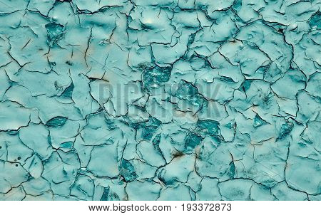 Beautiful turquoise background color texture old paint background abstract