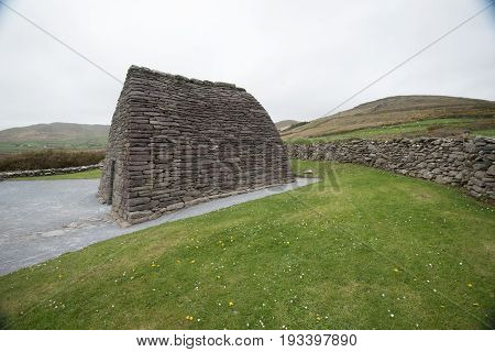 Gallarus Oratory Church In Ireland