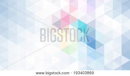 The blue pattern. Seamless triangles. Geometric Pattern.A repeating pattern with triangle shape.Seamless texture for your design.The repeating pattern.The template can be used for the background.