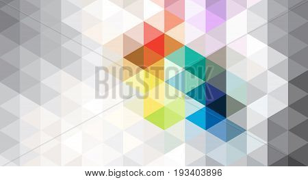 The blue and grey pattern. Seamless triangles. Geometric Pattern.A repeating pattern with triangle shape.Seamless texture for your design.The repeating pattern.The template can be used for the background.