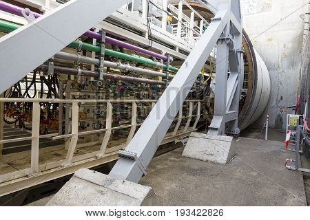 Subway Drilling Machine Cylinder