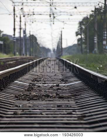 Rails Going Into Perspective