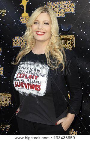 BURBANK - JUN 28: Emma Julia Jacobs at the 43rd Annual Saturn Awards at The Castaway on June 28, 2017 in Burbank, California