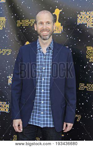 BURBANK - JUN 28: David Leslie Johnson at the 43rd Annual Saturn Awards at The Castaway on June 28, 2017 in Burbank, California