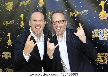 BURBANK - JUN 28: Jeff Krelitz, Brian Witten at the 43rd Annual Saturn Awards at The Castaway on June 28, 2017 in Burbank, California