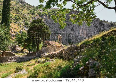 Ancient Serbian Church
