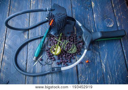 Fishing Tools For Casting Fishing Lures. Bite Alarm. Slingshot, Wagler, Pellets, Feeders For Carp Fi