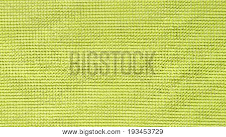 Green microfiber cloth texture background for cleaning, auto detailing and valeting concept design.