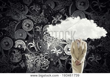 Daydreaming business concept